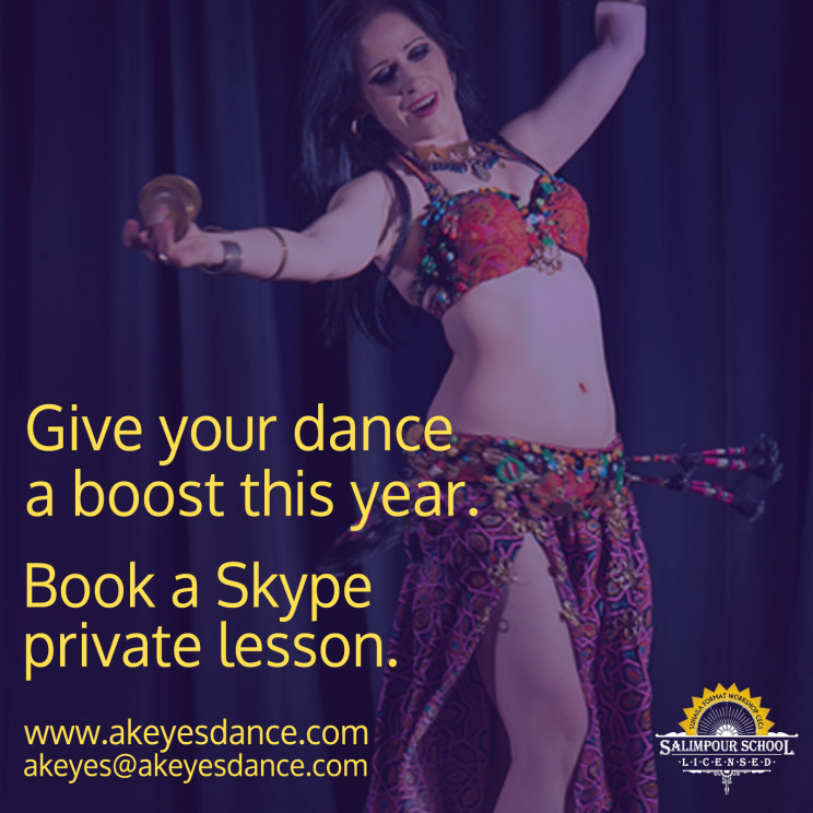 Skype dance lessons with Abigail Keyes