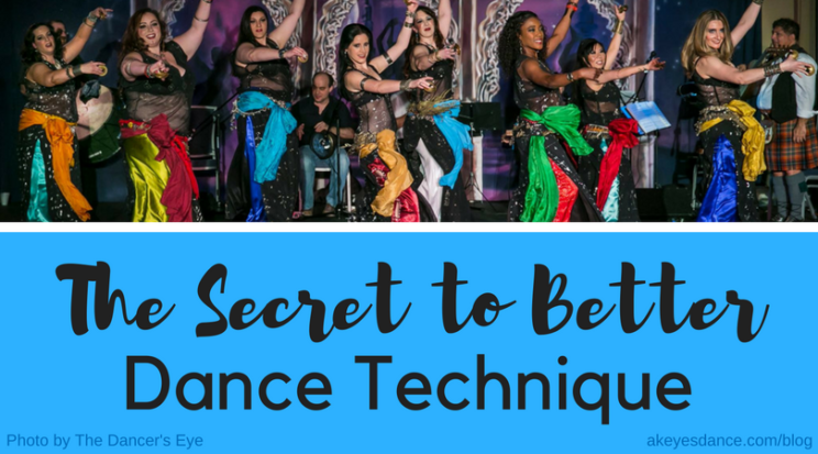 The secret to better dance technique by Abigail Keyes