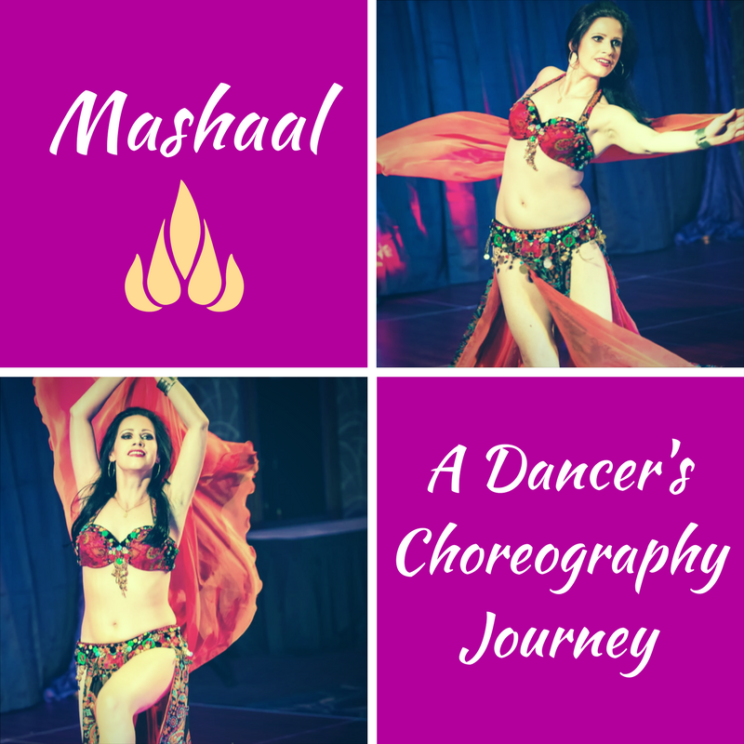 Belly Dance Choreography Journey