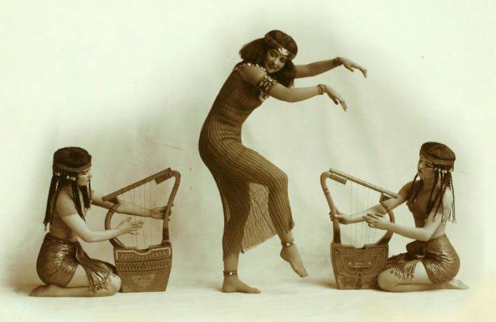 Ruth St Denis, belly dance, egypta, ancient dance, myth